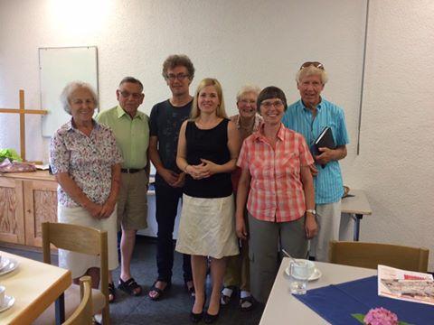 Austausch beim Gemeindetreff in Waiblingen