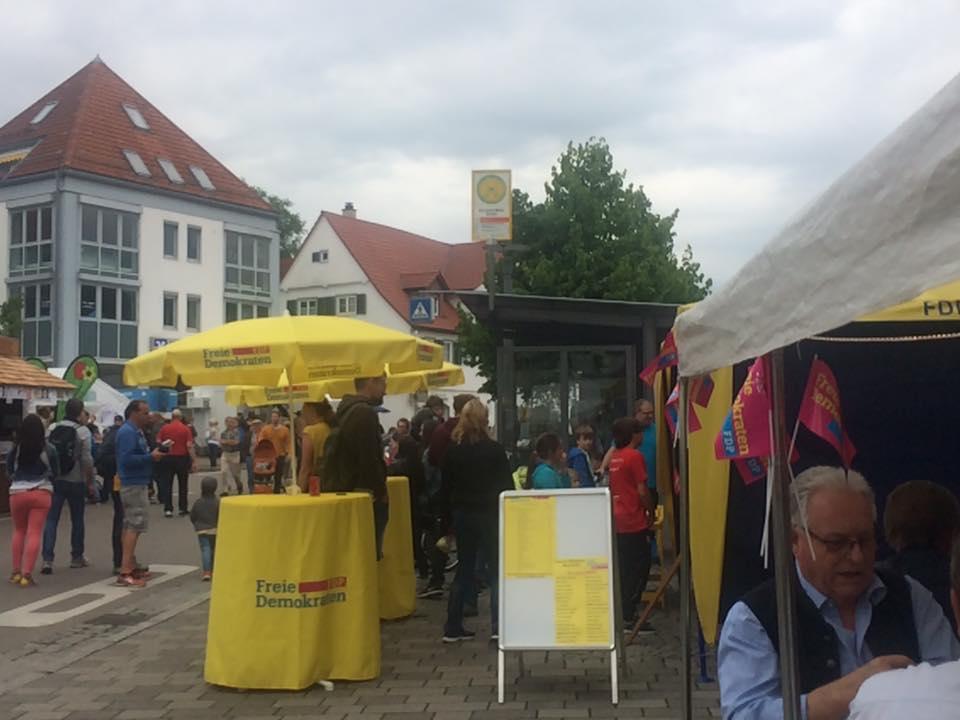 Straßenfest in Grunbach
