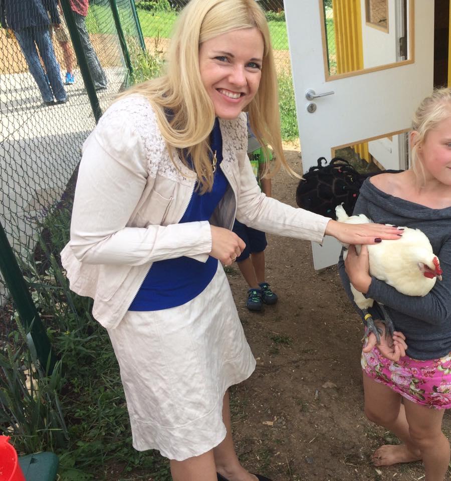 Einweihung des Schulbauernhofs der Hohbergschule
