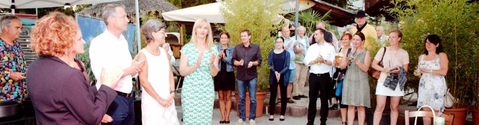 Sommerfest der FDP mit Nicola Beer